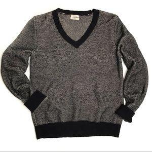 Madewell Wallace Shrunken V-Neck Pullover Sweater